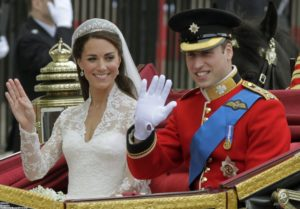 Guillermo de Cambridge y Kate Middleton